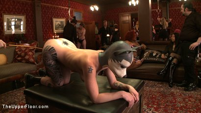 Photo number 7 from Stefanos' Brunch shot for The Upper Floor on Kink.com. Featuring Maestro Stefanos, Nerine Mechanique and Iona Grace in hardcore BDSM & Fetish porn.