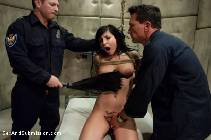 Photo number 7 from Mistaken Identity shot for Sex And Submission on Kink.com. Featuring Tori Lux, John Strong and Marco Banderas in hardcore BDSM & Fetish porn.