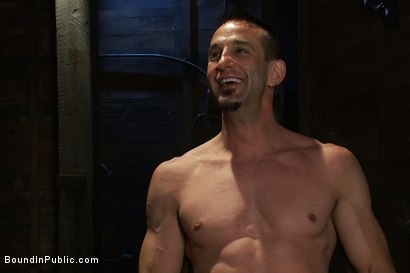 Photo number 15 from Muscle slave is stripped naked, used and humiliated while hordes of people take photos. shot for Bound in Public on Kink.com. Featuring Josh West, Jason Miller and Spencer Reed in hardcore BDSM & Fetish porn.