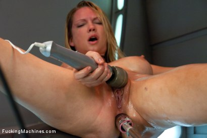 Photo number 4 from Double Penetration Warm-up: Machine Fucking at 1 Million Percent shot for Fucking Machines on Kink.com. Featuring Rain DeGrey in hardcore BDSM & Fetish porn.