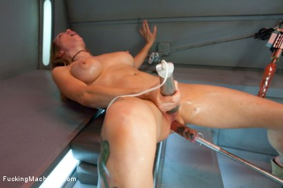 Photo number 14 from Double Penetration Warm-up: Machine Fucking at 1 Million Percent shot for Fucking Machines on Kink.com. Featuring Rain DeGrey in hardcore BDSM & Fetish porn.