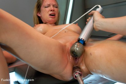 Photo number 6 from Double Penetration Warm-up: Machine Fucking at 1 Million Percent shot for Fucking Machines on Kink.com. Featuring Rain DeGrey in hardcore BDSM & Fetish porn.
