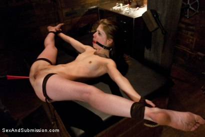 Photo number 12 from Obedient Girl: Sensi Pearl shot for Sex And Submission on Kink.com. Featuring Sensi Pearl and Mr. Pete in hardcore BDSM & Fetish porn.