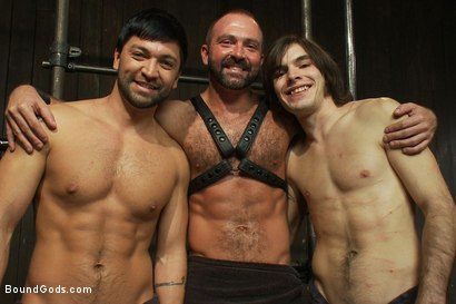 Photo number 15 from Josh West - Live Shoot shot for Bound Gods on Kink.com. Featuring Van Darkholme, Josh West, Dylan Deap and Dominic Pacifico in hardcore BDSM & Fetish porn.