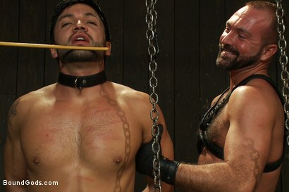 Photo number 7 from Josh West - Live Shoot shot for Bound Gods on Kink.com. Featuring Van Darkholme, Josh West, Dylan Deap and Dominic Pacifico in hardcore BDSM & Fetish porn.
