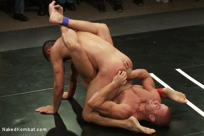 Photo number 10 from Tyler Saint & Blake Daniels vs Sebastian Keys & Emanuel <br> Live Audience Tag Team Match shot for Naked Kombat on Kink.com. Featuring Sebastian Keys, Emanuel, Blake Daniels and Tyler Saint in hardcore BDSM & Fetish porn.