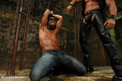 Photo number 1 from Not You, Not Today shot for Bound Gods on Kink.com. Featuring Dominic Pacifico and Tyler Saint in hardcore BDSM & Fetish porn.