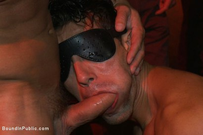 Photo number 9 from Hot Latin stripper is humiliated and used as a sex object in front of a horny crowd. shot for Bound in Public on Kink.com. Featuring Alexander Garrett and Tyler Saint in hardcore BDSM & Fetish porn.