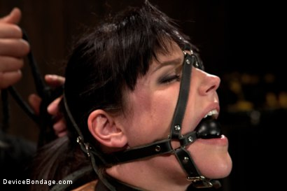 Photo number 14 from Breaking of Bobbi Starr shot for Device Bondage on Kink.com. Featuring Bobbi Starr in hardcore BDSM & Fetish porn.