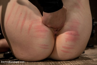 Photo number 12 from Cumming isn't easy - young redhead learns the ways of Device. shot for Device Bondage on Kink.com. Featuring Sofia Lauryn in hardcore BDSM & Fetish porn.