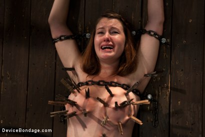 Photo number 6 from Cumming isn't easy - young redhead learns the ways of Device. shot for Device Bondage on Kink.com. Featuring Sofia Lauryn in hardcore BDSM & Fetish porn.