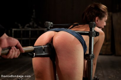Photo number 5 from Up and coming bondage whole made to cum and squirt with caning and whipping  shot for Device Bondage on Kink.com. Featuring Audrey Rose in hardcore BDSM & Fetish porn.