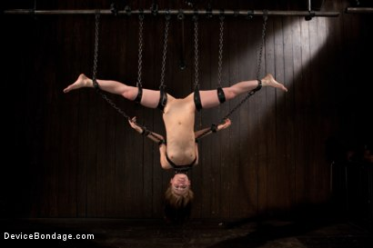 Photo number 10 from Destructive orgasms -  this Little Brunette is made to cum in stressful bondage shot for Device Bondage on Kink.com. Featuring Sensi Pearl in hardcore BDSM & Fetish porn.