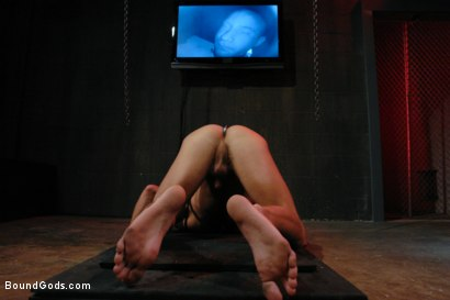Photo number 10 from Wax Torment, Electricity and a Headless Fuck shot for Bound Gods on Kink.com. Featuring Drake Jaden and Leo Forte in hardcore BDSM & Fetish porn.