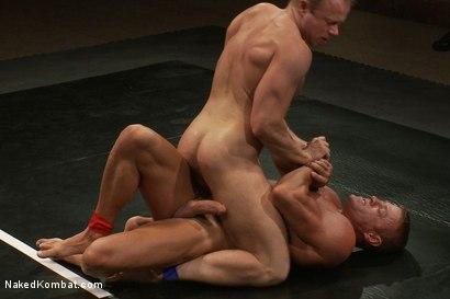 Photo number 7 from Muscle on Muscle - Tyler Saint takes on Ethan Hudson  shot for nakedkombat on Kink.com. Featuring Ethan Hudson and Tyler Saint in hardcore BDSM & Fetish porn.