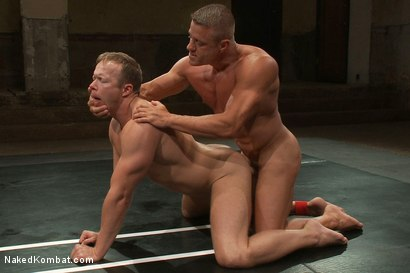 Photo number 12 from Muscle on Muscle - Tyler Saint takes on Ethan Hudson  shot for nakedkombat on Kink.com. Featuring Ethan Hudson and Tyler Saint in hardcore BDSM & Fetish porn.