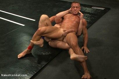 Photo number 8 from Muscle on Muscle - Tyler Saint takes on Ethan Hudson  shot for nakedkombat on Kink.com. Featuring Ethan Hudson and Tyler Saint in hardcore BDSM & Fetish porn.