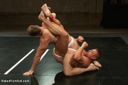 Photo number 4 from Muscle on Muscle - Tyler Saint takes on Ethan Hudson  shot for nakedkombat on Kink.com. Featuring Ethan Hudson and Tyler Saint in hardcore BDSM & Fetish porn.