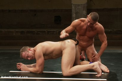 Photo number 10 from Muscle on Muscle - Tyler Saint takes on Ethan Hudson  shot for Naked Kombat on Kink.com. Featuring Ethan Hudson and Tyler Saint in hardcore BDSM & Fetish porn.