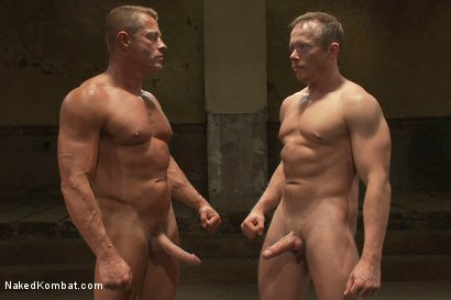 Photo number 15 from Muscle on Muscle - Tyler Saint takes on Ethan Hudson  shot for Naked Kombat on Kink.com. Featuring Ethan Hudson and Tyler Saint in hardcore BDSM & Fetish porn.