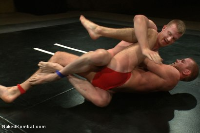 Photo number 2 from Blake Daniels vs Drake Temple shot for Naked Kombat on Kink.com. Featuring Drake Temple and Blake Daniels in hardcore BDSM & Fetish porn.