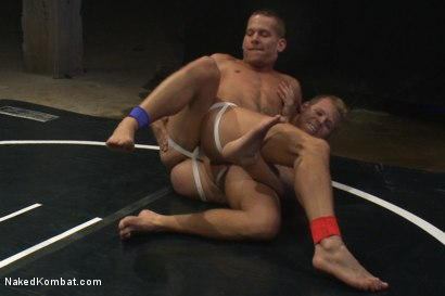 Photo number 4 from Shane Frost vs Mike Rivers - The Water Match shot for Naked Kombat on Kink.com. Featuring Shane Frost and Mike Rivers in hardcore BDSM & Fetish porn.