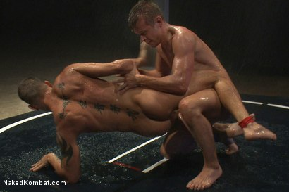 Photo number 8 from Shane Frost vs Mike Rivers - The Water Match shot for Naked Kombat on Kink.com. Featuring Shane Frost and Mike Rivers in hardcore BDSM & Fetish porn.