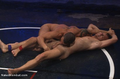 Photo number 11 from Shane Frost vs Mike Rivers - The Water Match shot for Naked Kombat on Kink.com. Featuring Shane Frost and Mike Rivers in hardcore BDSM & Fetish porn.
