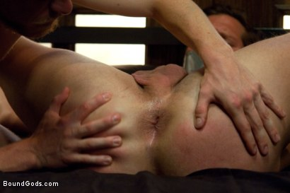 Photo number 7 from Duct tape and Nipple Torment shot for Bound Gods on Kink.com. Featuring Parker London and Patrick Hunt in hardcore BDSM & Fetish porn.
