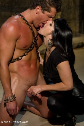 Photo number 10 from Purely Sexual shot for Divine Bitches on Kink.com. Featuring Parker London and Bobbi Starr in hardcore BDSM & Fetish porn.