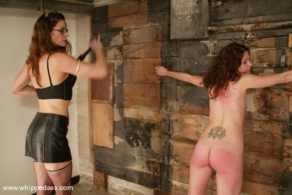 Photo number 7 from Nicolette and Kym Wilde shot for Whipped Ass on Kink.com. Featuring Nicolette and Kym Wilde in hardcore BDSM & Fetish porn.