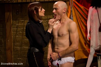 Photo number 3 from Erotic Humiliation shot for Divine Bitches on Kink.com. Featuring Maitresse Madeline Marlowe  and Will in hardcore BDSM & Fetish porn.