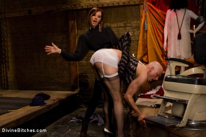 Photo number 5 from Erotic Humiliation shot for Divine Bitches on Kink.com. Featuring Maitresse Madeline Marlowe  and Will in hardcore BDSM & Fetish porn.