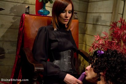 Photo number 13 from Erotic Humiliation shot for Divine Bitches on Kink.com. Featuring Maitresse Madeline Marlowe  and Will in hardcore BDSM & Fetish porn.