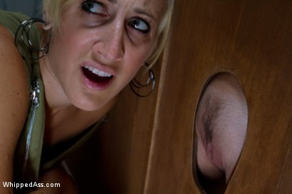 Photo number 2 from Lesbian Glory Hole shot for Whipped Ass on Kink.com. Featuring Felony and Dylan Ryan in hardcore BDSM & Fetish porn.