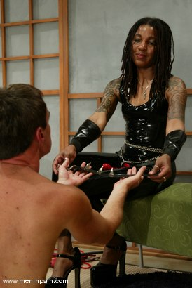 Photo number 12 from Mistress Heart and Wild Bill shot for Men In Pain on Kink.com. Featuring Mistress Heart and Wild Bill in hardcore BDSM & Fetish porn.