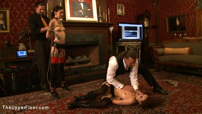 Photo number 14 from Service Day: L.A. Meat shot for theupperfloor on Kink.com. Featuring Iona Grace, Krysta Kaos and Derrick Pierce in hardcore BDSM & Fetish porn.
