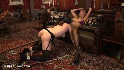 Photo number 1 from Service Day: Ultimate Submission shot for The Upper Floor on Kink.com. Featuring Iona Grace and Rain DeGrey in hardcore BDSM & Fetish porn.