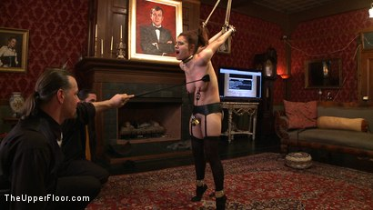 Photo number 9 from Service Day: Ultimate Submission shot for The Upper Floor on Kink.com. Featuring Iona Grace and Rain DeGrey in hardcore BDSM & Fetish porn.
