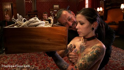 Photo number 12 from Service Day: Master Acworth shot for The Upper Floor on Kink.com. Featuring Krysta Kaos, Nerine Mechanique and Sparky Sin Claire in hardcore BDSM & Fetish porn.