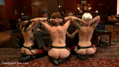 Photo number 1 from The House slaves Showcase their Foot Job Skills shot for The Upper Floor on Kink.com. Featuring Lilla Katt, Krysta Kaos and Sparky Sin Claire in hardcore BDSM & Fetish porn.