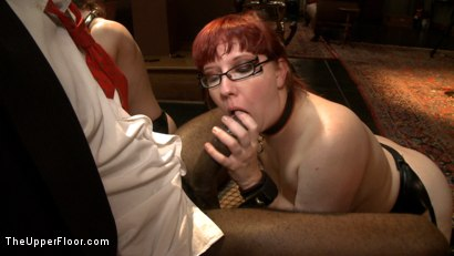 Photo number 10 from Service Day: Poker shot for The Upper Floor on Kink.com. Featuring Iona Grace, Nerine Mechanique, Bobby Bends and Mickey Mod in hardcore BDSM & Fetish porn.