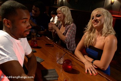 Photo number 1 from Hot Interracial Gangbang with Smoking Hot Blonde shot for Bound Gang Bangs on Kink.com. Featuring Lea Lexis, Tee Reel, Rico Strong, Mickey Mod, Flash Brown and Bobby Bends in hardcore BDSM & Fetish porn.