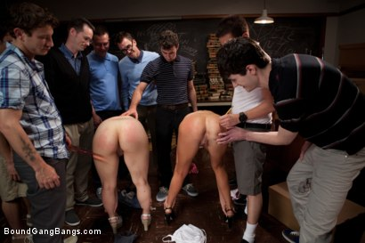 Photo number 4 from Revenge of the Nerdz shot for Bound Gang Bangs on Kink.com. Featuring James Deen, Dane Cross, Mr. Pete, Kaylee Hilton, Clayra Beau, Jesse Carl, Scout, Leo, Chris Ockham, Will Jasper and Dietrich Cyrus in hardcore BDSM & Fetish porn.