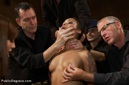 Photo number 5 from Beautiful Fetish Model is Pushed to her Limits and Pounded Hard in the Ass shot for Public Disgrace on Kink.com. Featuring Skin Diamond, James Deen and Princess Donna Dolore in hardcore BDSM & Fetish porn.