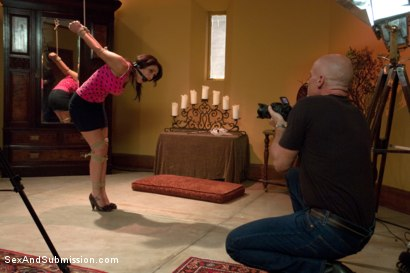 Photo number 1 from Crew Appreciation shot for Sex And Submission on Kink.com. Featuring Anthony Rosano, Charley Chase, Mark Davis and Lilla Katt in hardcore BDSM & Fetish porn.