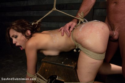 Photo number 11 from Intense Submission: Audrey Rose shot for Sex And Submission on Kink.com. Featuring Audrey Rose and Mark Davis in hardcore BDSM & Fetish porn.