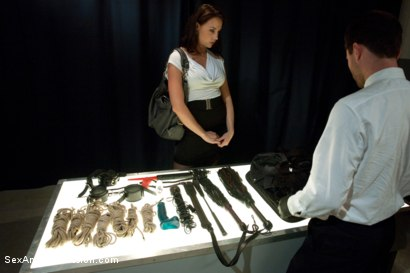 Photo number 1 from Airport Security shot for Sex And Submission on Kink.com. Featuring James Deen and Chanel Preston in hardcore BDSM & Fetish porn.