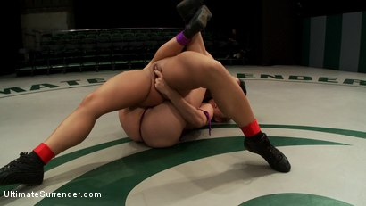 Photo number 5 from Rookie has her ass kicked, pussy fingered on the mat, humiliating defeat. Fucked like a common whore shot for Ultimate Surrender on Kink.com. Featuring Mahina Zaltana and Dee Williams in hardcore BDSM & Fetish porn.