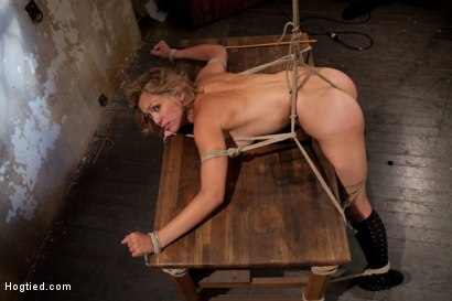Photo number 9 from Amazing Carly Simon look alike hopelessly struggles <br>Orgasms ripped from her helpless body Brutal shot for Hogtied on Kink.com. Featuring Audrey Rose in hardcore BDSM & Fetish porn.